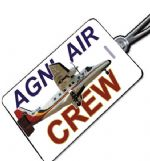 Nepal Airlines CREW Tag